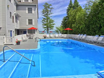 Photo for Spacious 2BR North Shore Inn Condo on World Class Lake Michigan Shoreline!