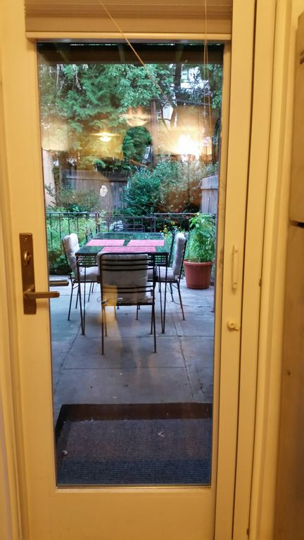 Private Garden Apt Prime Park Slope Brooklyn Nyc Outdoor E Grill
