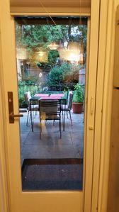 Photo for Private Garden apt-Prime Park Slope Brooklyn NYC . Outdoor Space/Grill