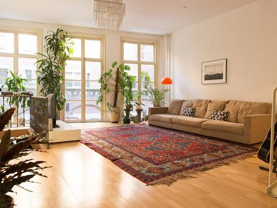 Photo for Bohemian loft / Spacious city center apartment