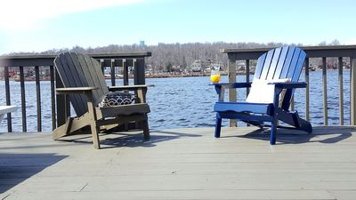 Perfect Seating Close to Water
