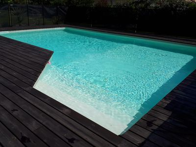 Photo for BASIN ARCACHON HOUSE 200m2 6CH / 4SDE / 2WC PRIVATE POOL SECURE ON 2000m2