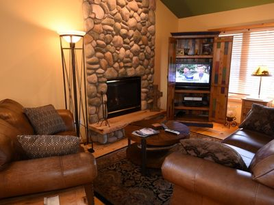 Photo for Features include a loft/den area with separate fireplace and TV