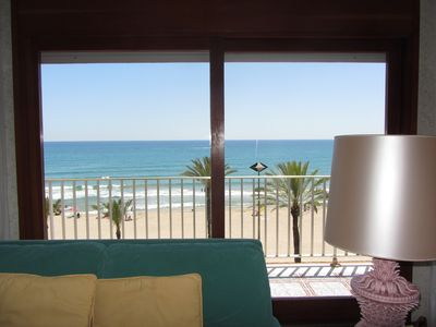 Photo for Magnificent apartment with views overlooking the Sea