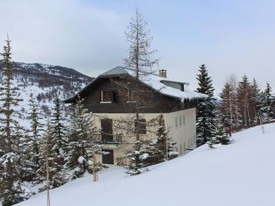 Photo for Comfortable family cottage in Vars: stunning views, quiet
