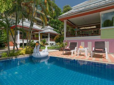 Photo for ⭐Lime Wood Resort 11BR Sleeps 22 w/Pool in Patong