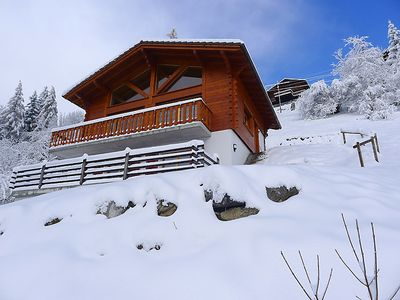 Photo for Vacation home Chalet Double Rouge in Gryon - 6 persons, 3 bedrooms