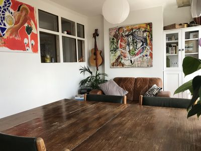 Photo for Bright Apartment With Terrace Near Kentish Town
