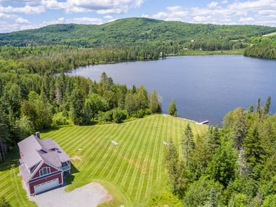 Photo for Private All-Season Waterfront Retreat on 55 Acres