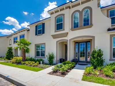 Photo for Modern Bargains - Solara Resort - Feature Packed Spacious 5 Beds 4.5 Baths Townhome - 5 Miles To Disney