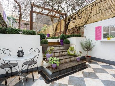 Photo for A funky and vibrant home boasting a magnificent secret garden (Veeve)