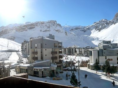 Photo for Apartment 374 m from the center of Tignes with Internet, Lift, Balcony (98661)