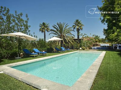 Photo for Very charming well decorated renovated 200 m2 finca with 5 bdms pool lush garden