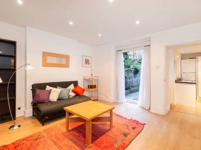 Photo for West Kensington two double bedroom garden flat