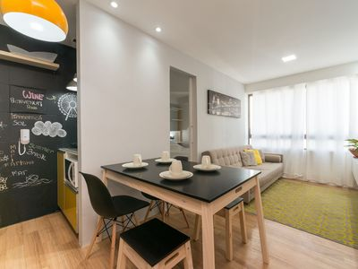Photo for PM802 Excellent flat in Boa Viagem for up to four people, surrounded by restaurants and supermarkets