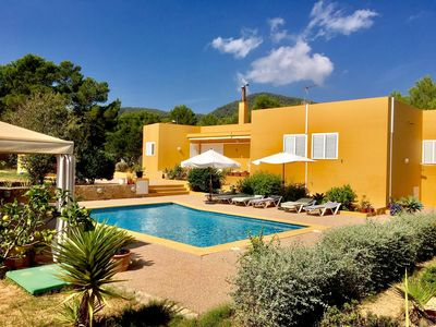 Photo for Casa Roig is a beautiful villa in Ibiza with a private pool close to Blue Marlin.