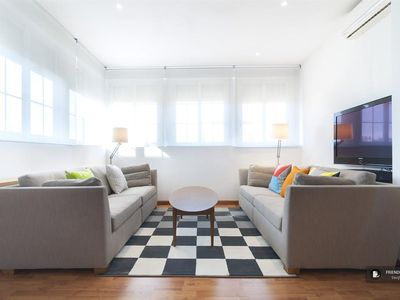 Photo for Friendly Rentals The Trafalgar Terrace apartment in Madrid