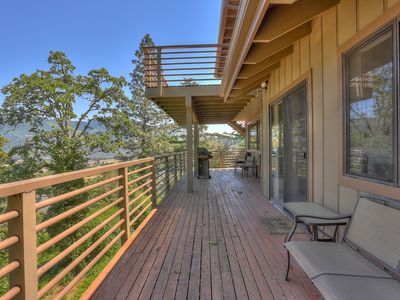 Photo for ABSOLUTE VISTA ONE - Stunning river views, huge private deck and downtown access!