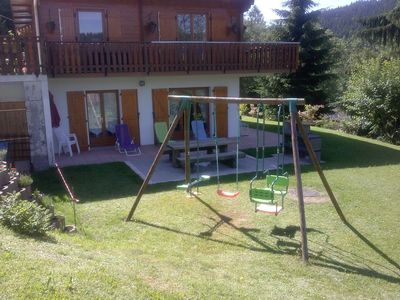 Photo for CHALET GERARDMER renting the ground floor of 90 m2 plot of 3000m2