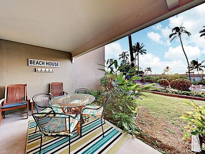 Photo for New Listing! Serene Newly Renovated Beach Condo w/ Pool & Private Lanai