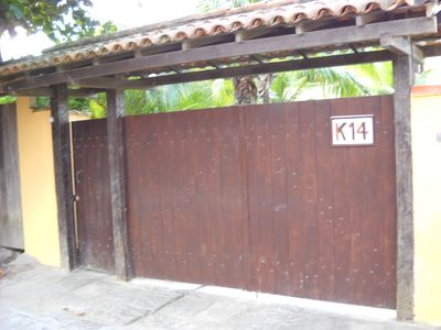 Photo for House 05 suites, swimming pool, sauna, complete, 100mts from the beach