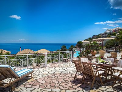 Photo for 'Wonderful Villa Manolia  Kefalonia, 3 BEDROOMS, 3.5 BATHROOMS nice garden, wonderful sea view !