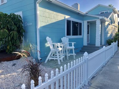 Photo for Location-Quaint  Beach Front House- Historic Pass a Grille-Steps to the beach