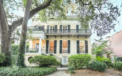 Photo for Stay with Lucky Savannah: Southern Manor on Jones Street w/ 2 Parking Spaces