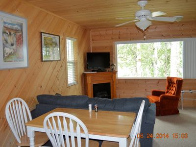 Photo for Beautiful Cabin with view of Kasilof River - Access to private dock