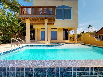 Photo for Waterfront home w/ amazing views and private pool - close to water park