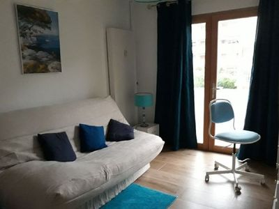 Photo for 3 room apartment renovated, 3 min from the beach,