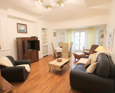 Photo for The Queen: luxurious 2 beds flat, air conditioning, Nice city center