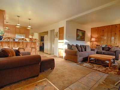 Photo for Kings Beach Getaway - Close to Golf, Wifi, Private Outdoor Hot Tub