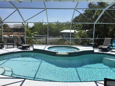 Photo for Waterfront home with pool, spa, boatlift and acess to gulf