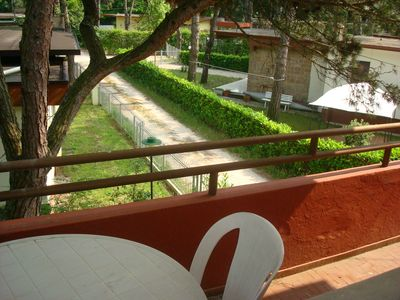 Photo for QUIET APARTMENT IN VILLA IN THE PINE FOREST OF JESOLO NEAR THE chin