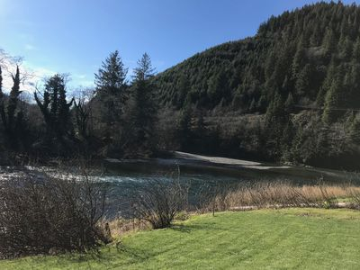 Photo for Beautiful Fishing, Hunting, Horse riding Lodge right off the Wilson in Tillamook