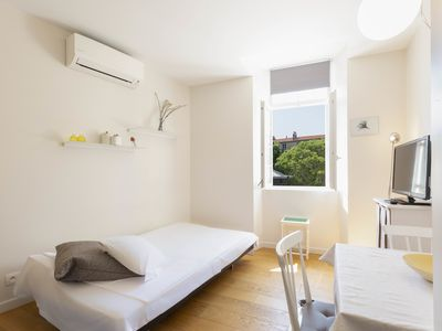 Photo for Home Sweet Home 21: studio with AC, view on the Place Nationale