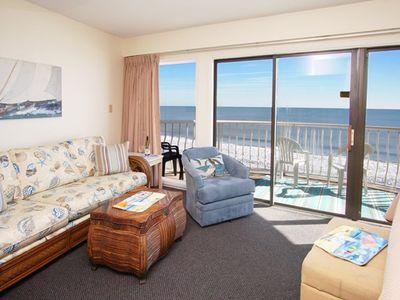 St. Clement's at Caravelle Resort 705, Lovely 1 BR Ocean Front Condo with Outdoor Swimming Pool