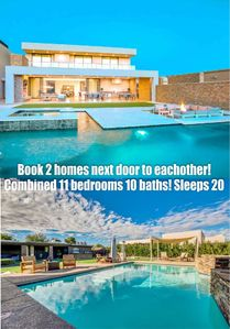Photo for Book these 2 homes together! 11 bedrooms 10 bath compound