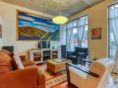 Photo for Stunning, updated loft in the heart of downtown Hood River!