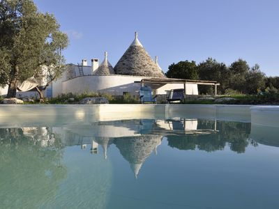 Photo for Trullo MELOGRANO - Beautiful Trullo with Pool and Panoramic View