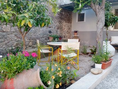 Photo for Euripides house  with garden
