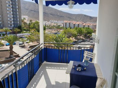 Photo for Apartment Azul only some steps to the beach, balcony, wifi, mountain views