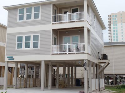 Photo for Gulf Shores most beautiful beaches!! relax in this  new 5 bdr. 4.5 bath house.