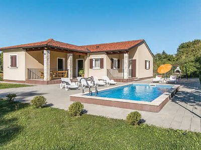 Photo for 3 bedroom countryside villa w/ small gym, private pool, A/C, Wi-Fi & BBQ