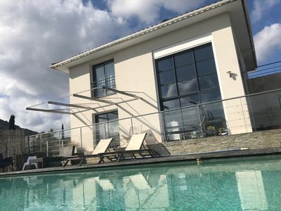 Photo for PIC SAINT LOUP VILLA IDEAL FOR HOLIDAYS IN THE FAMILY SUN