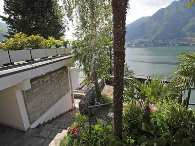 Photo for Apartment in Pognana Lario with Lift, Parking, Internet, Pool (116139)