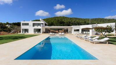 Photo for Villa Morgan - Large Modern and Luxurious Villa with A/C, Private Pool, Jacuzzi and close to the Charming Village of San Juan! - Free WiFi