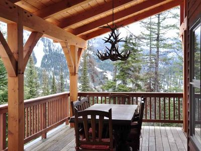 Photo for Breathtaking Views From This Beautiful, Private Home With Ski-In/Ski-Out Access.