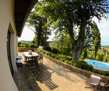 Photo for Farmhouse in Italy - dream location near the sea incl. Olive grove & swimming pool
